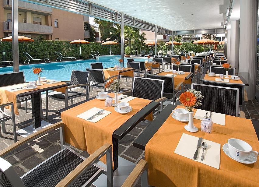 Hotel Imperial San Benedetto del Tronto - colazione in piscina