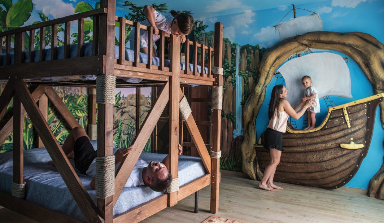 Hotel Relax di San Benedetto del Tronto camera a tema per bambini