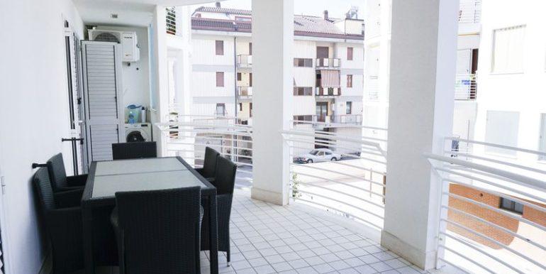 Mareadriatico.com- terrazza casa vacanze a Grottammare