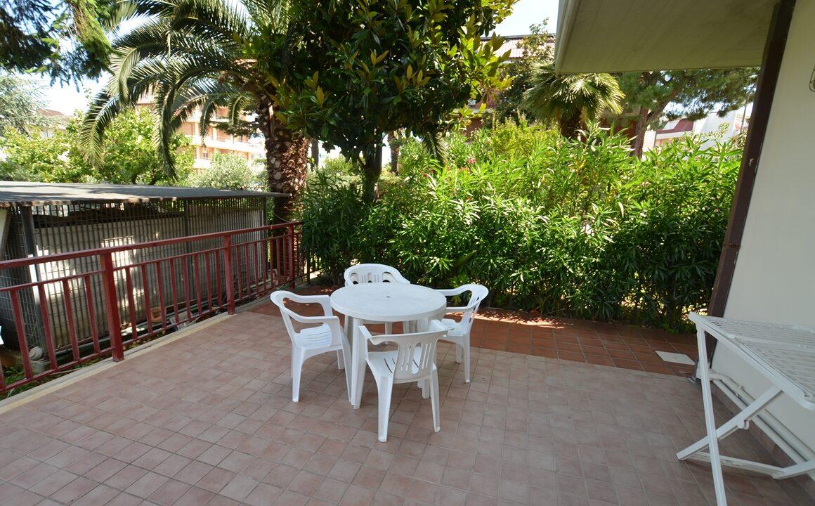 appartamenti con giardino a San Benedetto del Tronto Magnolia - giardino