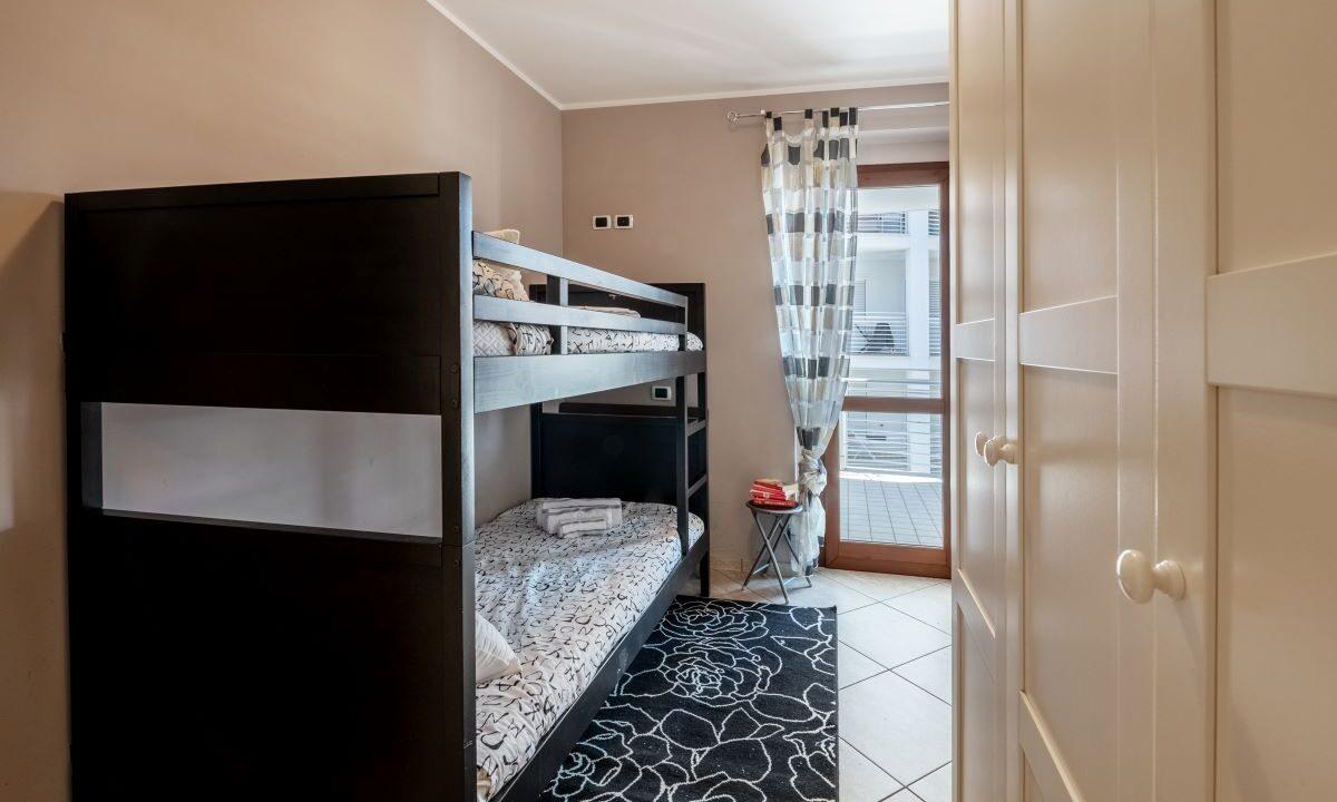 appartamento in affitto estivo a Grottammare - camera a due letti