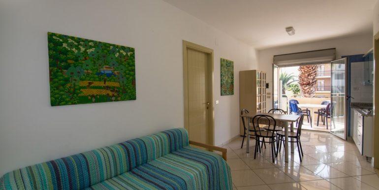 appartamento della palazzina Azzurra a San Benedetto del Tronto