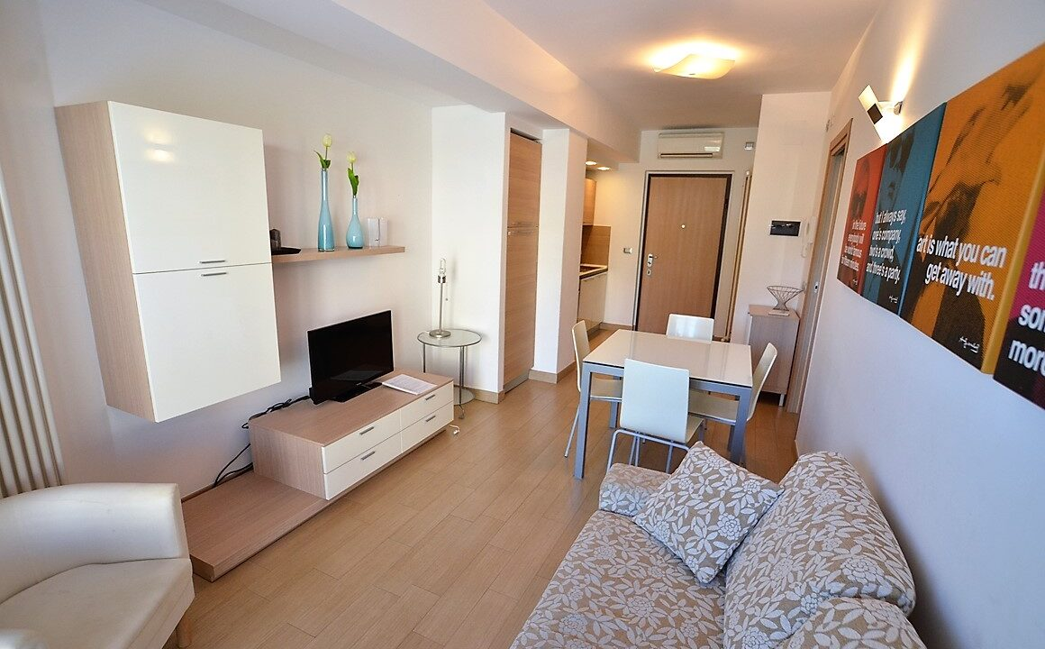 appartamento in centro a San Benedetto del Tronto affitto estivo - soggiorno
