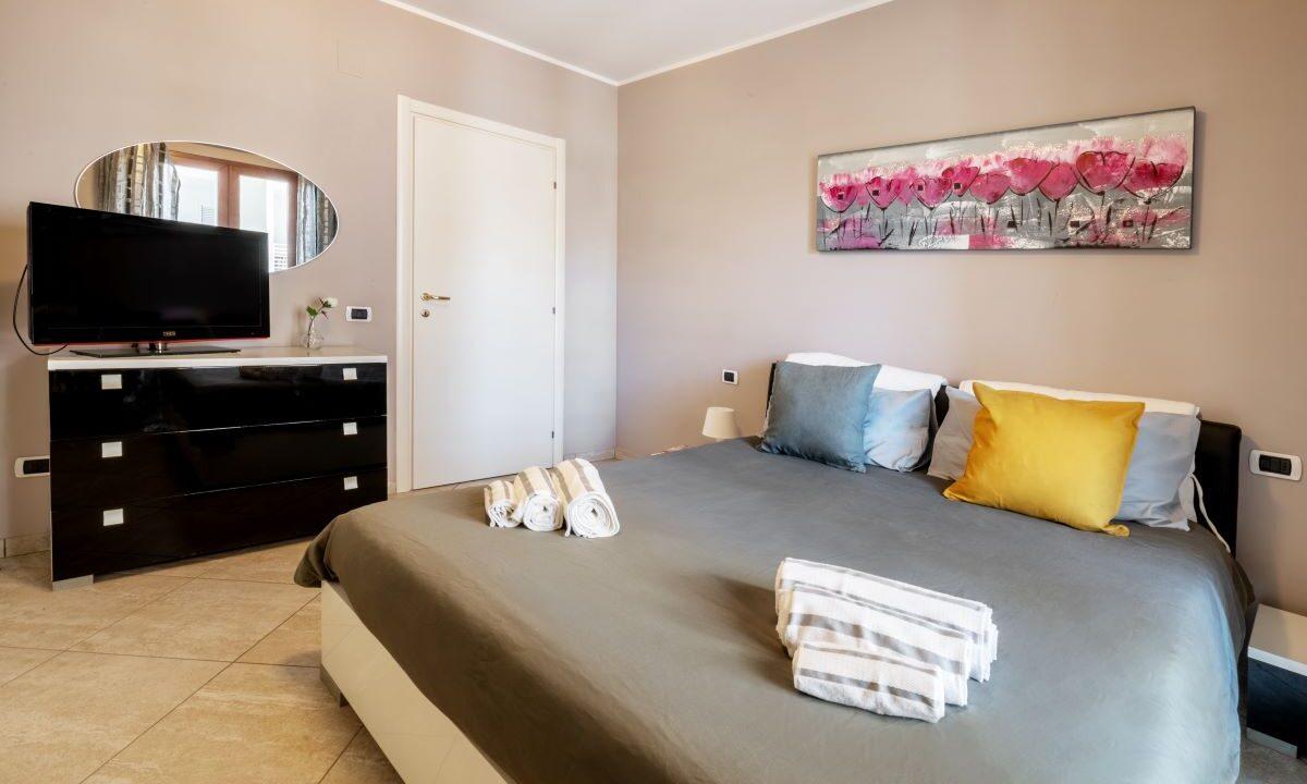 appartamento per vacanze a Grottammare - camera da letto