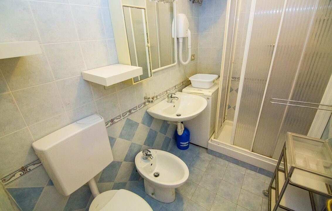 bagno appartamento in affitto estivo al Seaside San Benedetto del Tronto