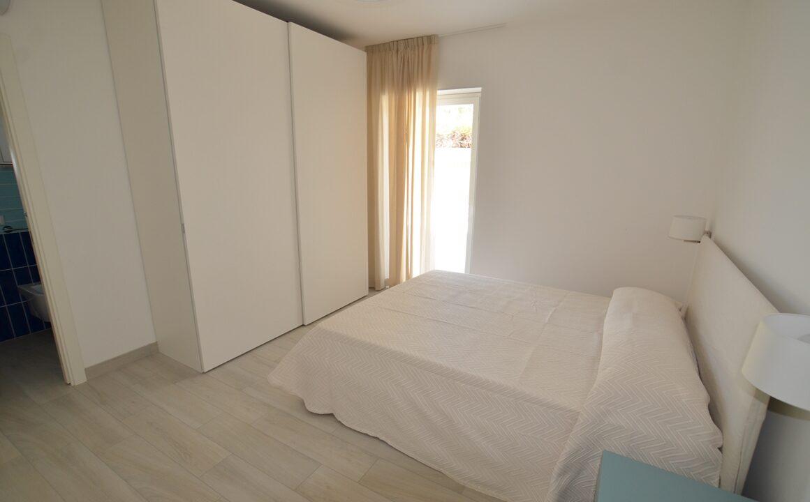 camera da letto matrimoniale della palazzina adriatico a San Benedetto del Tronto