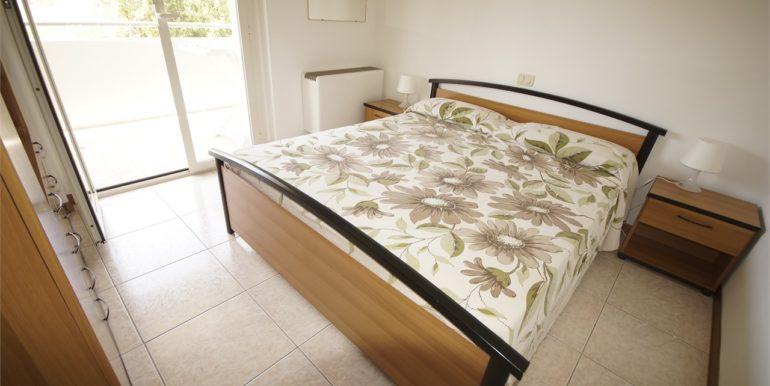 camera matrimoniale appartamento con terrazza a San Benedetto del Tronto