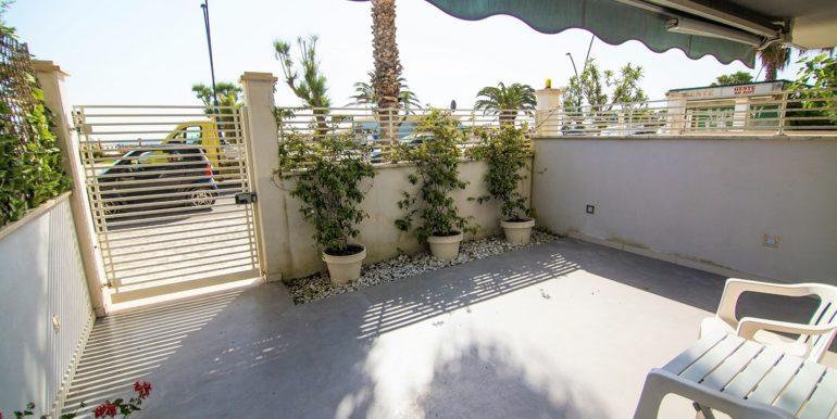 cortile Cala Luna Suite a San Benedetto del Tronto