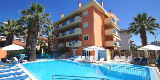 Palazzina Azzurra 6 posti – condominio con piscina a San Benedetto del Tronto