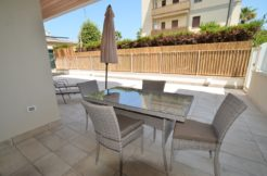giardino privato della palazzina adriatico a San Benedetto del Tronto