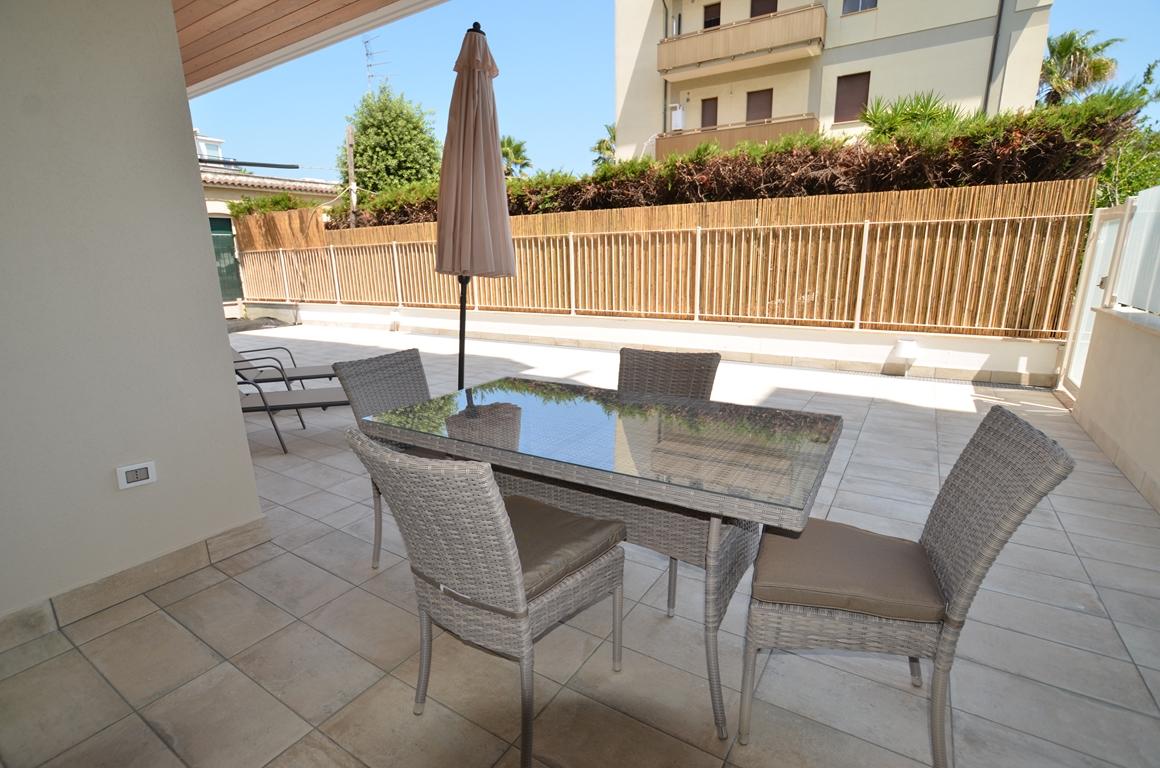 Adriatico – appartamento con giardino privato a San Benedetto del Tronto