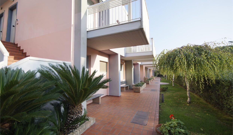 giardino - residence Mediterraneo Uno - San Benedetto del Tronto