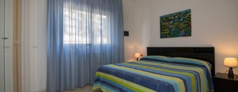 matrimoniale appartamento della palazzina Azzurra a San Benedetto del Tronto