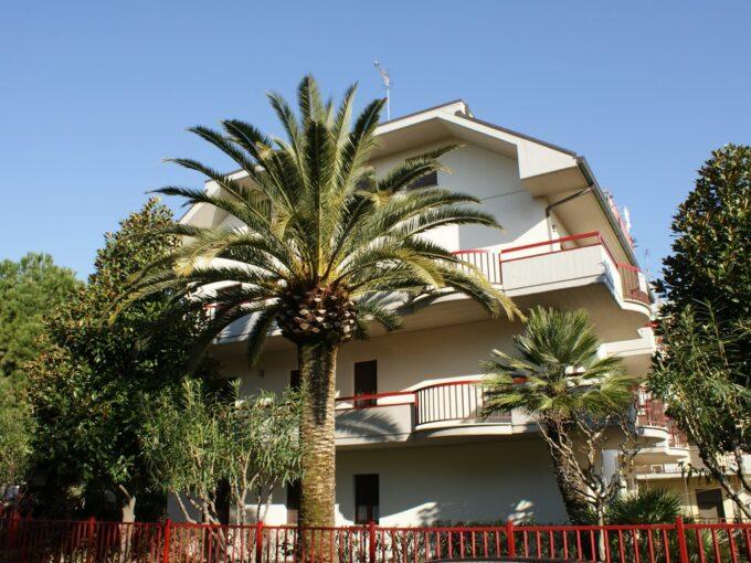 esterno casa vacanze a San Benedetto del Tronto