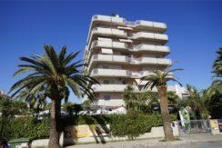 palazzina esterna dell'appartamento attico di Via Cherubini a San Benedetto del Tronto