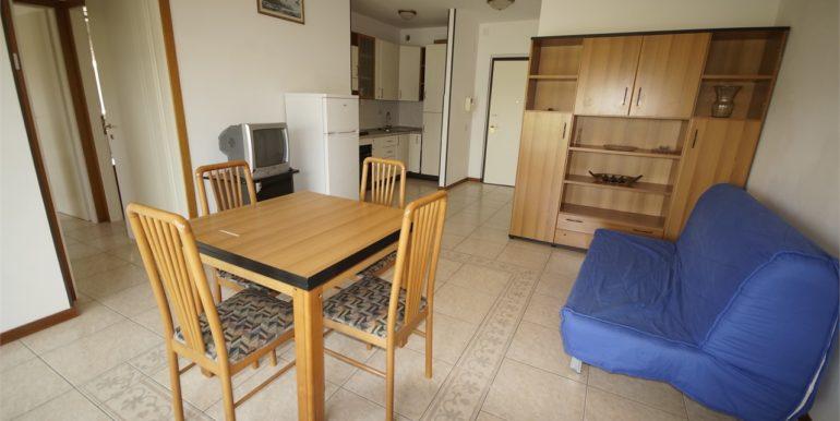 soggiorno appartamento con terrazza a San Benedetto del Tronto