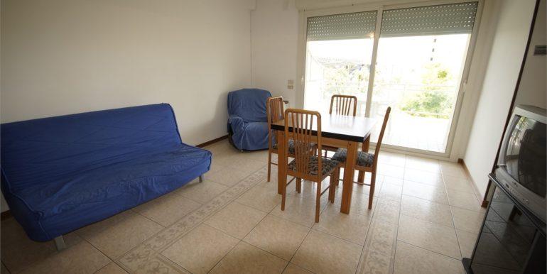soggiorno appartamento con terrazza abitabile a San Benedetto del Tronto