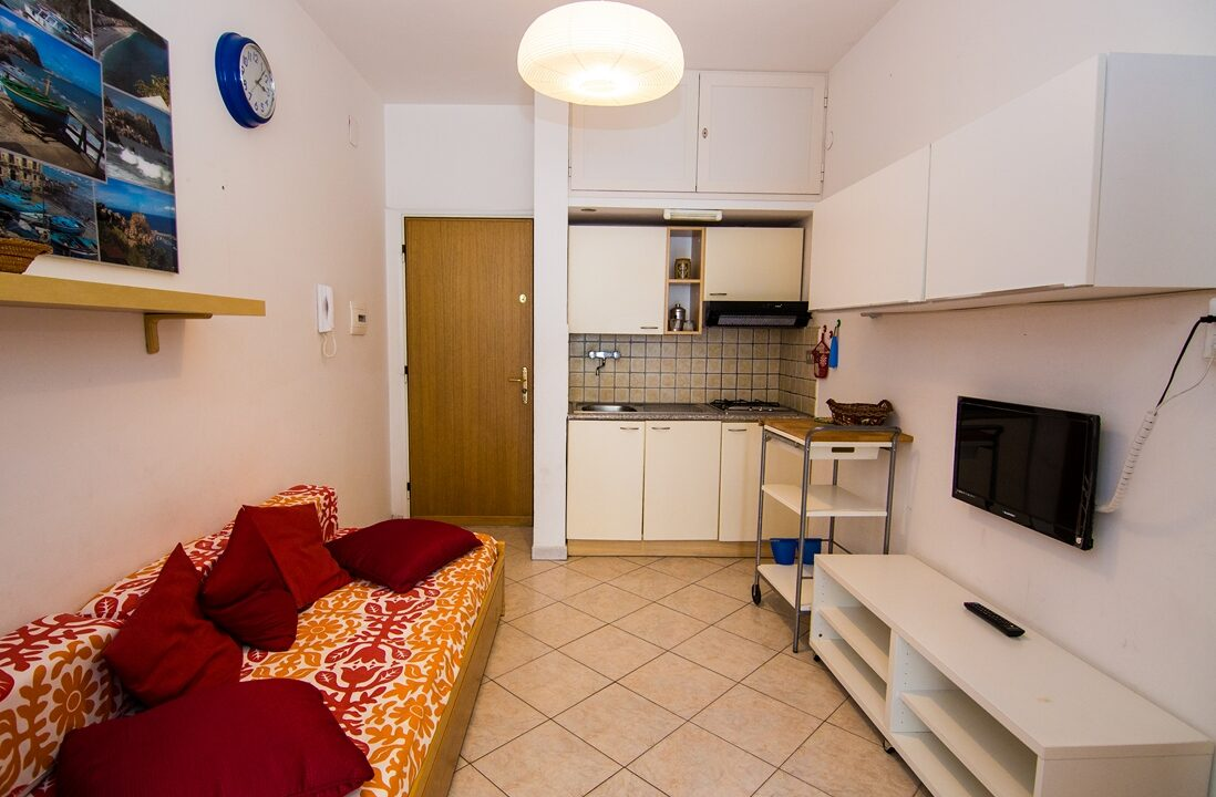 soggiorno appartamento in affitto estivo al complesso Seaside San Benedetto del Tronto