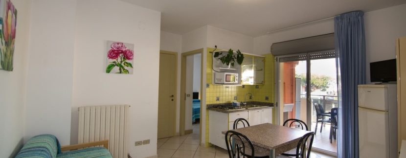 soggiorno condominio Azzurra a San Benedetto del Tronto