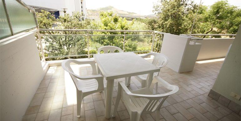 terrazza abitabile appartamento con terrazza a San Benedetto del Tronto