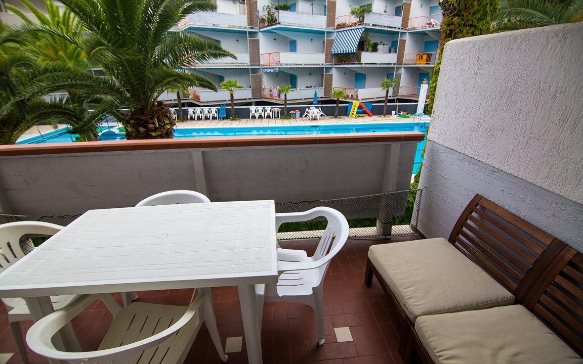 terrazza appartamento in affitto estivo al Seaside San Benedetto del Tronto