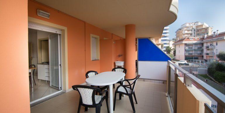 terrazzo appartamento - palazzina Azzurra a San Benedetto del Tronto